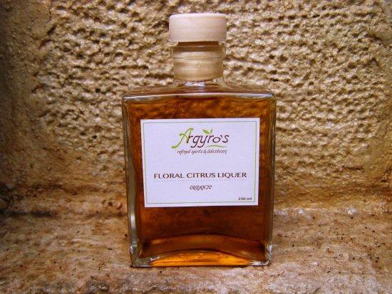 Veneto Boutique Hotel: ARGYROS FLORAL CITRUS LIQUER!!