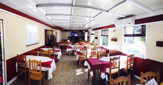 Segur de Calafell, İspanya: Visa del comedor exterior