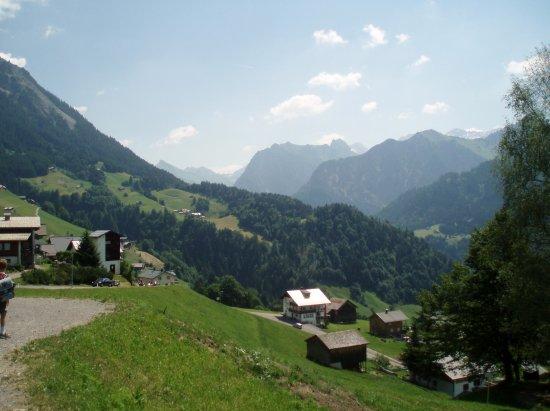 Bludenz, Austria: Valley view
