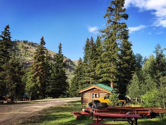 Shadow Mountain Guest Ranch: View from Fisherman's Cabin