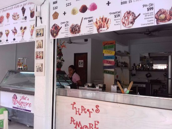 That's Amore Italian Gelato, Crepes & Waffles: some of our products