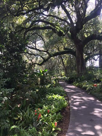 Darrow, Luizjana: Pathway around plantation property