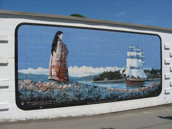 Chemainus, Canada: mural