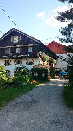Wertach, Tyskland: Anfahrt zum Hotel