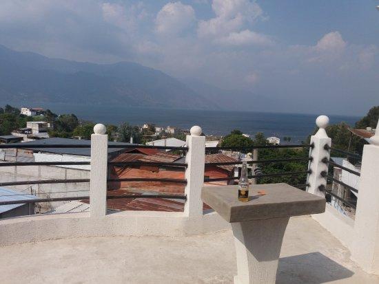 Solola, Guatemala: Vista desde la Teraza y Bar&Restaurante