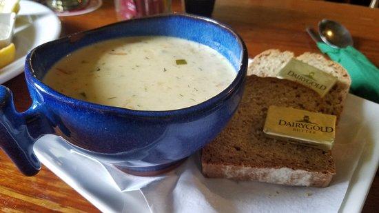 Kilfenora, Ireland: The chowder