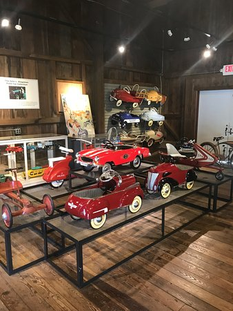 Hickory Corners, MI: The Pedal Car Barn at Gilmore Car Museum