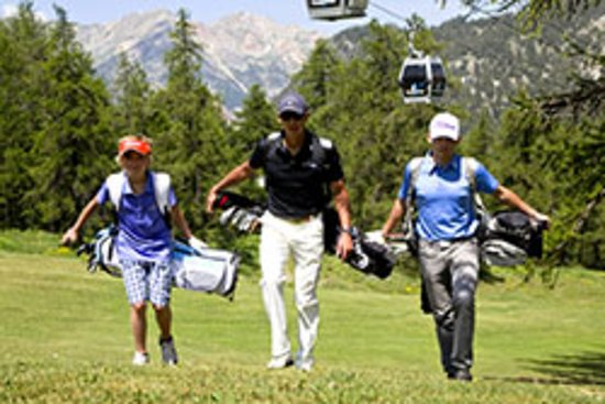 Golf international de Montgenevre
