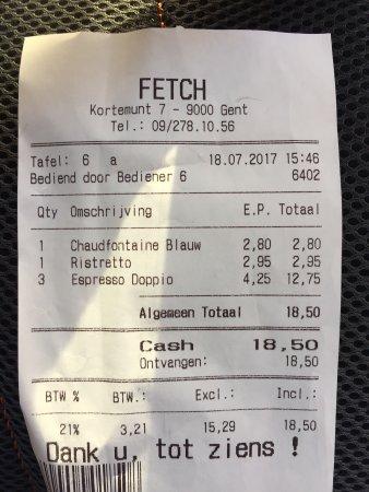 Fetch - Picture of Fetch, Ghent - TripAdvisor