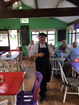 Tideswell, UK: Chef at work