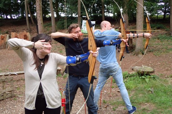 Графство Дорсет, UK: Archery at Insight Activities