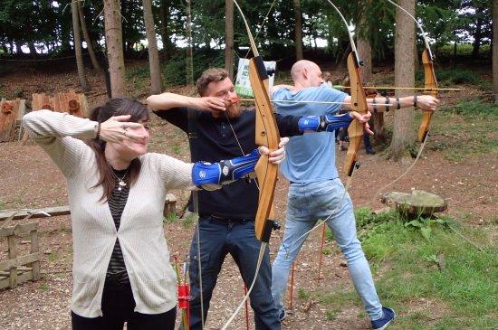 Dorset, UK: Archery at Insight Activities
