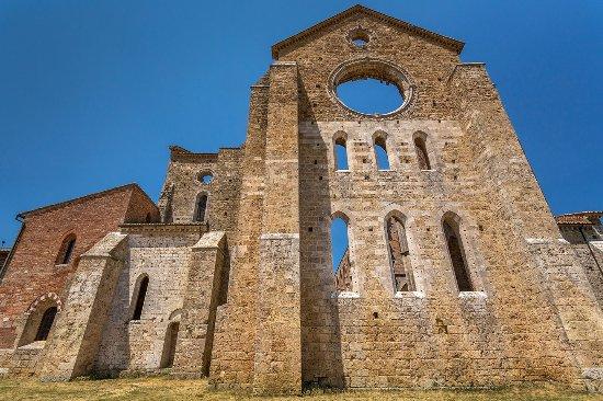 Chiusdino, Italy: Abbazia di San Galgano