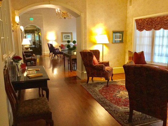 Carnegie Inn & Spa: A charming boutique inn that makes you feel like travel back in time!  Don't forget the restaura