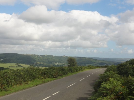 Manaton, UK: Another view from the road