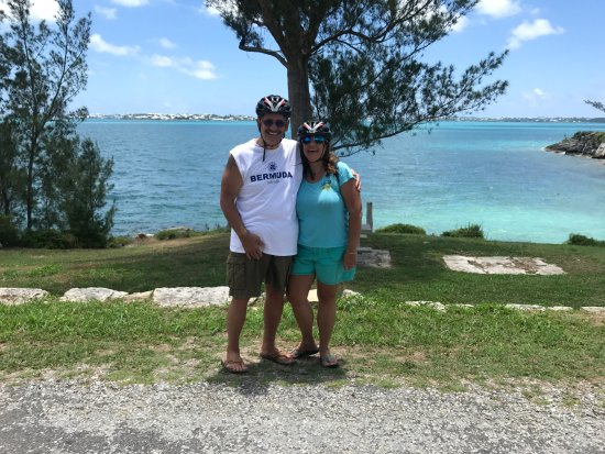 Sandys Parish, Bermudes : this view was beautiful and Troy our guide took pic
