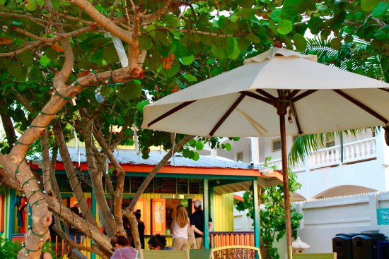 West End Village, Anguilla: BBS from the tables