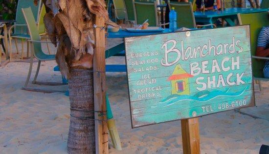 West End Village, Anguilla: Their sign