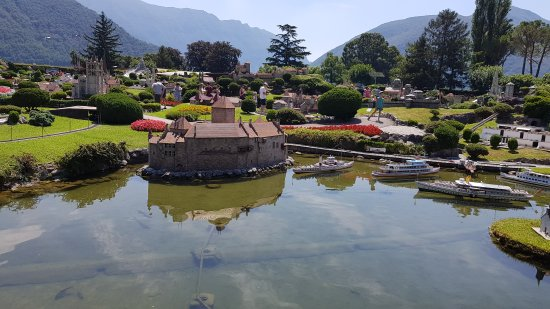 Melide, Schweiz: 20170718_125059_large.jpg
