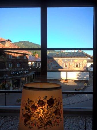 Hotel Wittelsbach: Θέα από το εστιατόριο...Ιούλιος 2017