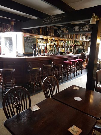 Scorrier, UK: the pub