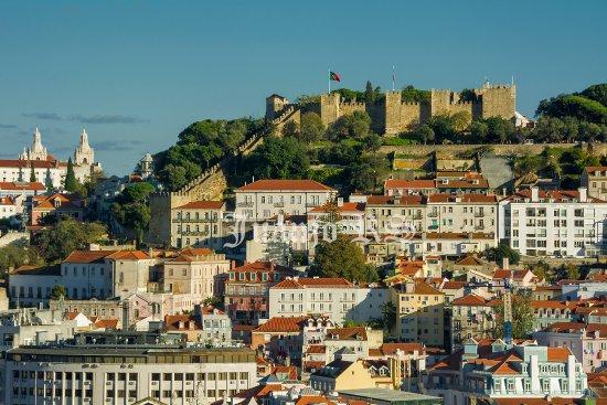 Zamek św. Jerzego (castelo de Sao Jorge)