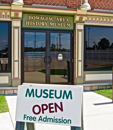 Dowagiac, MI: OPEN & FREE are 2 big draws, but donations are accepted