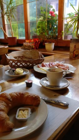 Entlebuch, Sveits: Breakfast