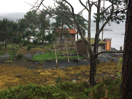 Molde, Norway: Séchoir à poissons