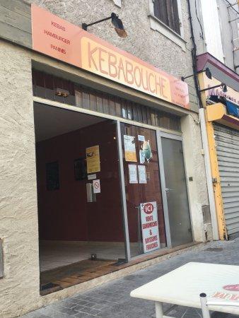 Monsegur, فرنسا: Kebabouche, entrée