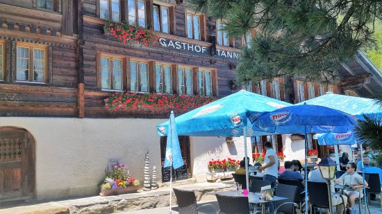 Innertkirchen, Suiza: Aussenterasse