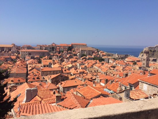 Apartments Dupcic: Dubrovnik from the walls.