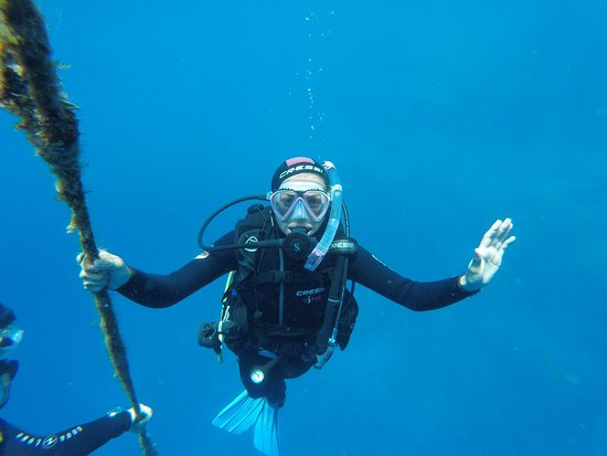 Aliki, Grekland: Cycladic Diving