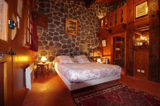 Saint-Arcons-d Allier, France: Chambre 4 personnes