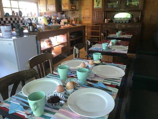 Basse-Normandie, Fransa: Ontbijt