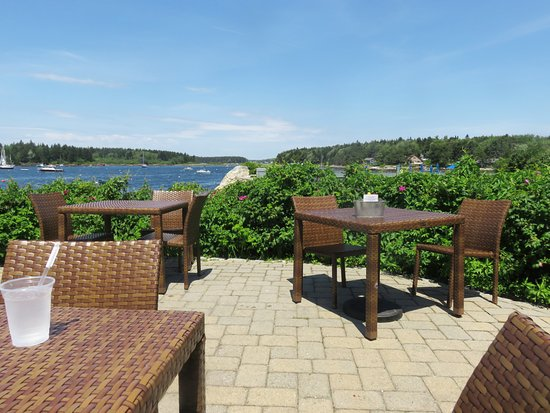 Sebasco Estates, ME: Patio perfect