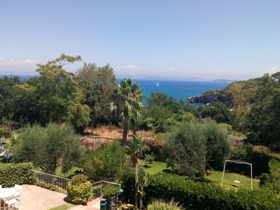 Continental Mare Hotel: View from sea view balcony