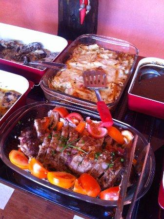 Casinha Gourmet - Caraiva: filé ao molho de gorgonzola delicioso