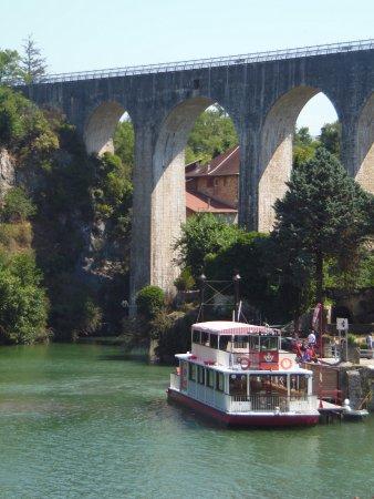 Saint-Nazaire-en-Royans, Γαλλία: BATEAU