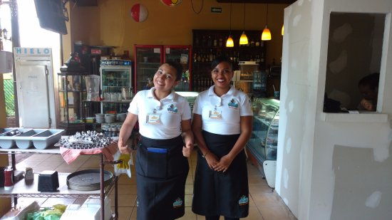 Lukumbe: Two of their dedicated waitress