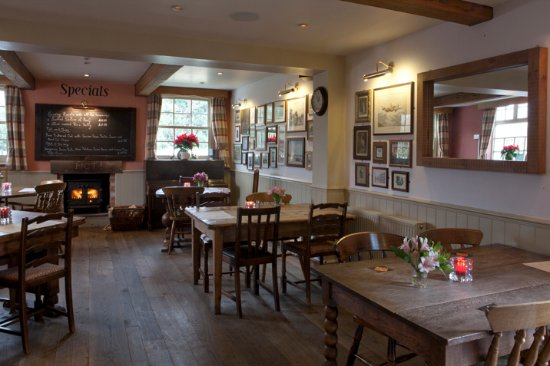 Wittersham, UK: oxney pie and burger bar interior