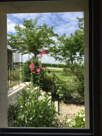 Brie Sous Archiac, France: View from our room