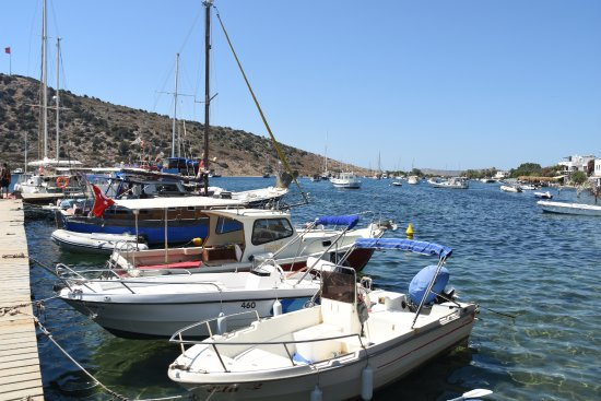 Gumusluk, Turkey: SMALL BOATS