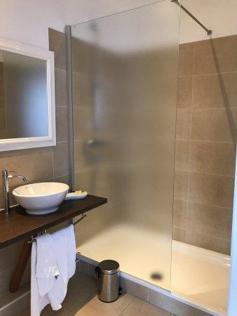 Asendorf (Harburg), Germany: Neues komfortables Bad mit großer Dusche