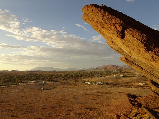 Usakos, Namibia: auf dem Hausberg