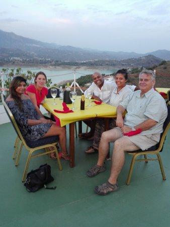 Vinuela, Spain: Familia indu