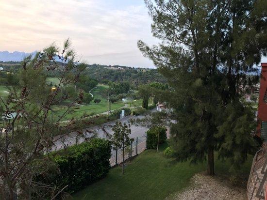 Hotel Barcelona Golf Resort & Spa: Vistas desde la habitación