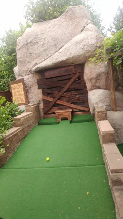 Westminster, CO: Abandoned mine on the mini golf course