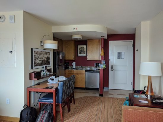 fully equipped kitchenette picture of residence inn. Black Bedroom Furniture Sets. Home Design Ideas