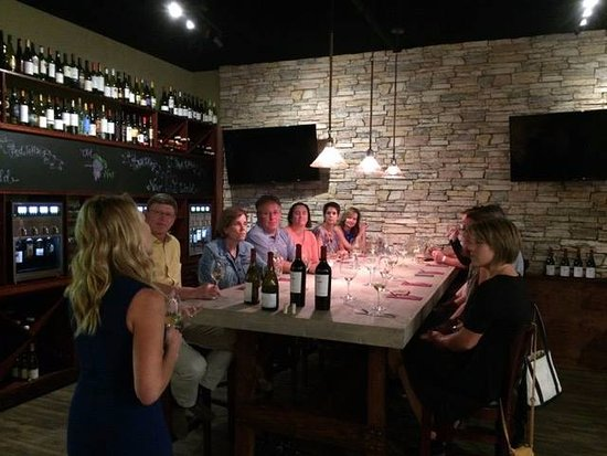 Cellar 55: Tasting Room with 16 wines and 8 beers on tap